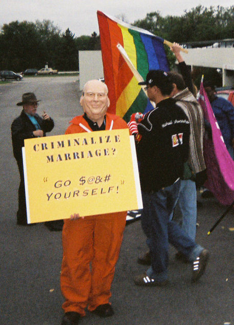 Dick cheney gay marriage