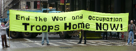 End the War and Occupation Troops Home Now!