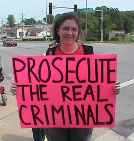 Prosecute the real criminals.